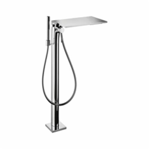 Hansgrohe 18450001 Axor Massaud Free Standing Tub Filler Trim, 4.5 gpm, Chrome Plated, 1 Handles, Hand Shower Yes/No: Yes, Import