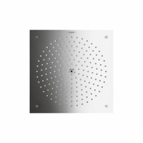 Hansgrohe 26481001 Raindance 260 1-Jet Shower Head Trim, 2.5 gpm, 1 Spray, Ceiling/Wall Mount, 10-1/4 in L x 10-1/4 in W Head