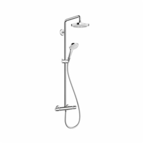Hansgrohe 27257001 Croma Select E 180 Shower Pipe, 1/2 in, NPT, 44-7/8 in L