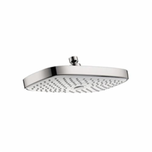 Hansgrohe 27387401 Raindance Select E 300 AIR 2-Jet Shower Head, 2.5 gpm, 2 Sprays, Wall Mount, 11-3/4 in Head