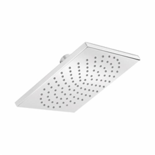 Hansgrohe 27404001 1-Jet Shower Head, 2.5 gpm, 1 Spray, Wall Mount, 7-1/8 in L x 2 in W Head