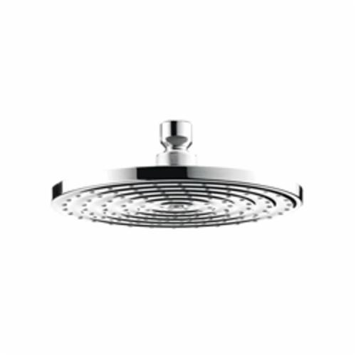 Hansgrohe 27476001 Raindance S 180 AIR 1-Jet Shower Head, 2.5 gpm, 1 Spray, Ceiling/Wall Mount, Domestic