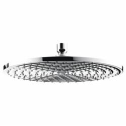 Hansgrohe 27493001 Raindance S 300 AIR 1-Jet Shower Head, 2.5 gpm, 1 Spray, Ceiling/Wall Mount, Domestic