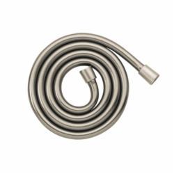 Hansgrohe Techniflex® B 28276823 Hand Shower Hose, 63 in L, 1/2 in Dia Hose, Metal, Brushed Nickel