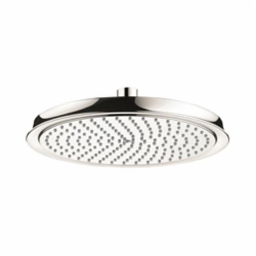 Hansgrohe 28427831 Raindance C 240 AIR 1-Jet Shower Head, 2.5 gpm, 1 Spray, Wall Mount, 10-5/8 in Dia Head