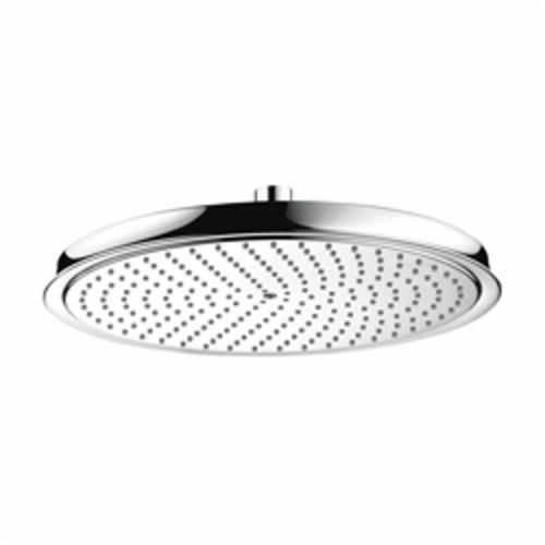 Hansgrohe 28428001 Raindance C 300 AIR 1-Jet Shower Head, 2.5 gpm, 1 Spray, Wall Mount, 13 in Dia Head
