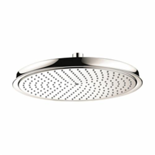 Hansgrohe 28428831 Raindance C 300 AIR 1-Jet Shower Head, 2.5 gpm, 1 Spray, Wall Mount, 13 in Dia Head