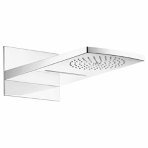 Hansgrohe 28433001 Raindance Rainfall AIR 180 2-Jet Shower Head Trim, (2) RainAir/Rainflow Waterfall Spray, 2.5 gpm Maximum, Domestic