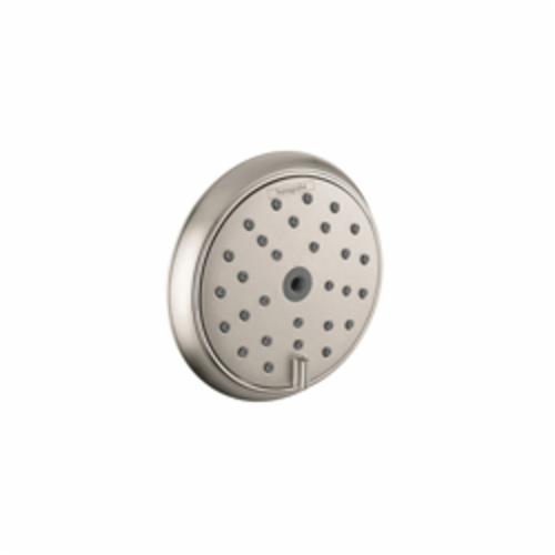 Hansgrohe 28445821 Raindance C AIR Body Spray, 0.9 gpm, Wall Mount, 4-3/8 in Dia x 7/8 in H Head