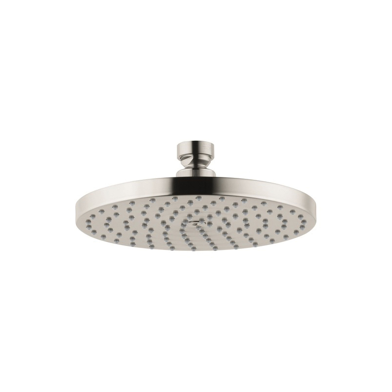 Hansgrohe 28484821 Axor Downpour 1-Jet Shower Head, 2.5 gpm, 6-7/8 in Dia x 1-3/4 in H Head
