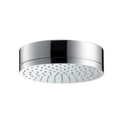 Hansgrohe 28489001 Axor Citterio 1-Jet Shower Head, 2.5 gpm, 1 Spray, Wall Mount, 7-1/8 in Dia Head