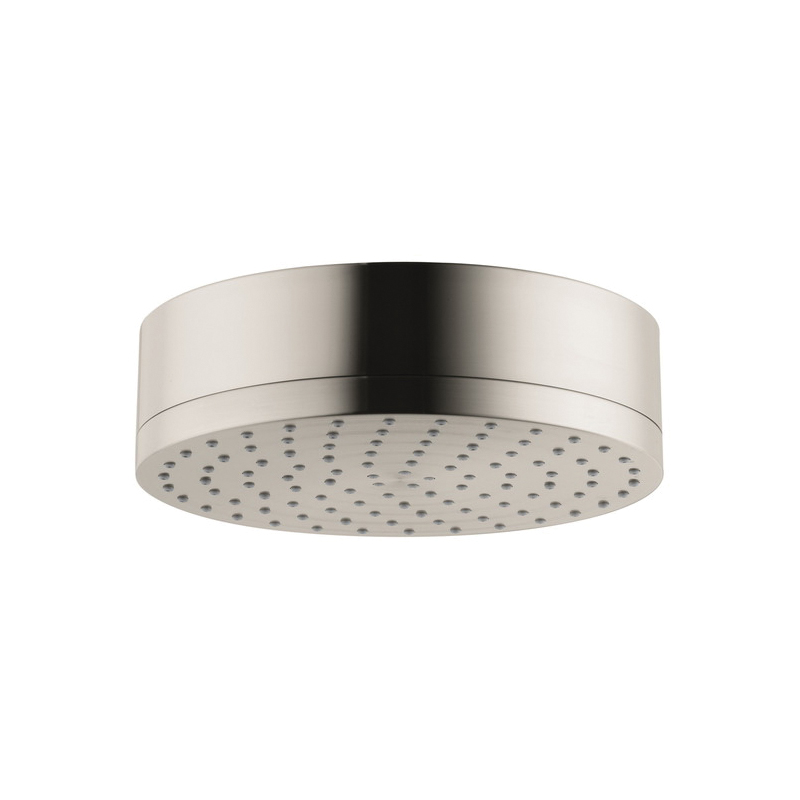 Hansgrohe 28489821 Axor Citterio 1-Jet Shower Head, 2.5 gpm, 1 Spray, Wall Mount, 7-1/8 in Dia Head