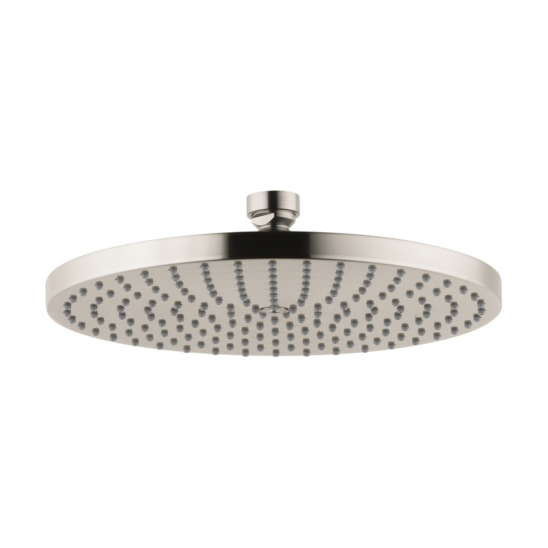 Hansgrohe 28494821 Axor Downpour 240 AIR 1-Jet Shower Head, 2.5 gpm, 9-7/16 in Dia x 2-3/8 in H Head