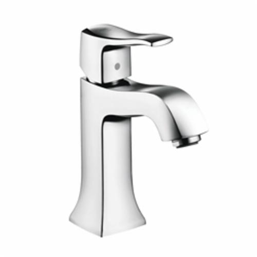 Hansgrohe 31075001 Metris C Bathroom Faucet, 1.2 gpm, 3-7/8 in H Spout, 1 Handle, Pop-Up Drain, 1 Faucet Hole, Chrome Plated, Import, Commercial