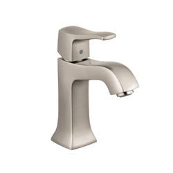 Hansgrohe 31075821 Metris C Bathroom Faucet, 1.2 gpm, 3-7/8 in H Spout, 1 Handle, Pop-Up Drain, 1 Faucet Hole, Brushed Nickel, Import, Commercial