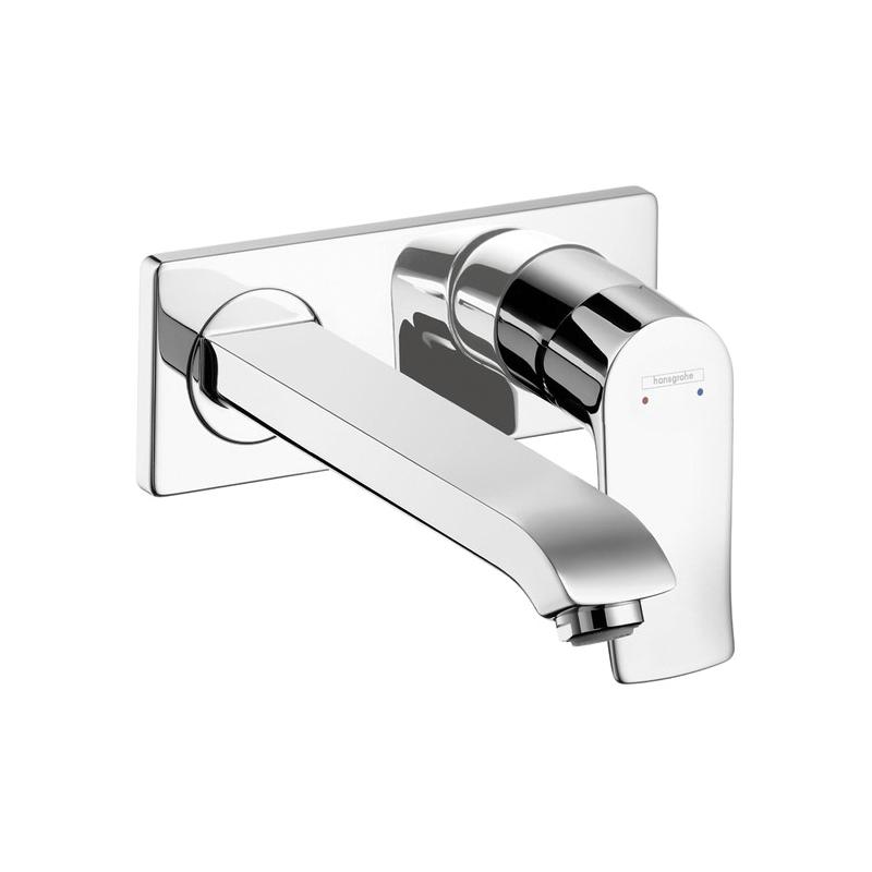 Hansgrohe 31086001 Metris E Bathroom Faucet Trim, 1.5 gpm, 1 Handle, Chrome Plated