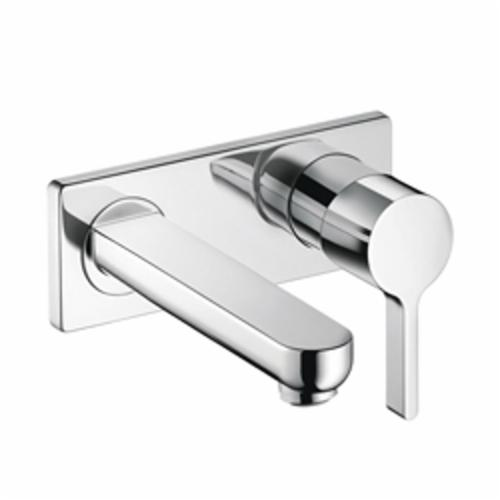 Hansgrohe 31163001 Metris S Bathroom Faucet Trim, 1.2 gpm, 4 in Center, 1 Handle, Chrome Plated, Import, Commercial