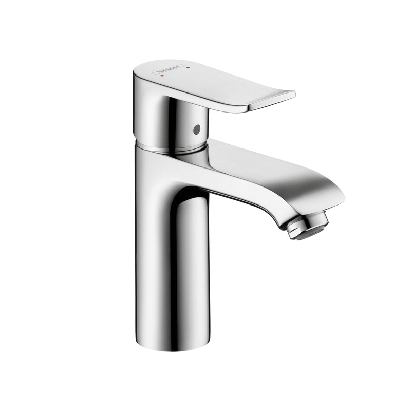 Hansgrohe 31204001 Metris 110 Bathroom Faucet, 1 gpm, 3-7/8 in H Spout, 1 Handle, 1 Faucet Hole, Chrome Plated, Commercial