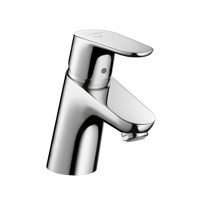 Hansgrohe 31539001 Focus E 70 Bathroom Faucet, 1.2 gpm, 2-1/8 in H Spout, 1 Handle, 1 Faucet Hole, Chrome Plated
