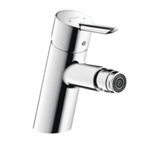 Hansgrohe 31721001 Focus S Bidet Faucet, 2.2 gpm, 2-7/8 in H Spout, 1 Handle, Pop-Up Drain, Chrome Plated, Import