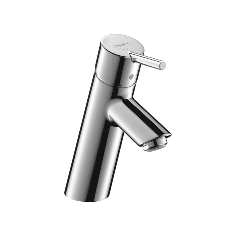 Hansgrohe 32057001 Talis S Bathroom Faucet, 1.2 gpm, 3 in H Spout, 1 Handle, 1 Faucet Hole, Chrome Plated, Commercial