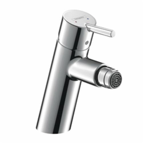 Hansgrohe 32240001 Talis S Bidet Faucet, 2.2 gpm, 3-5/8 in H Spout, 1 Handle, Pop-Up Drain, Chrome Plated, Import