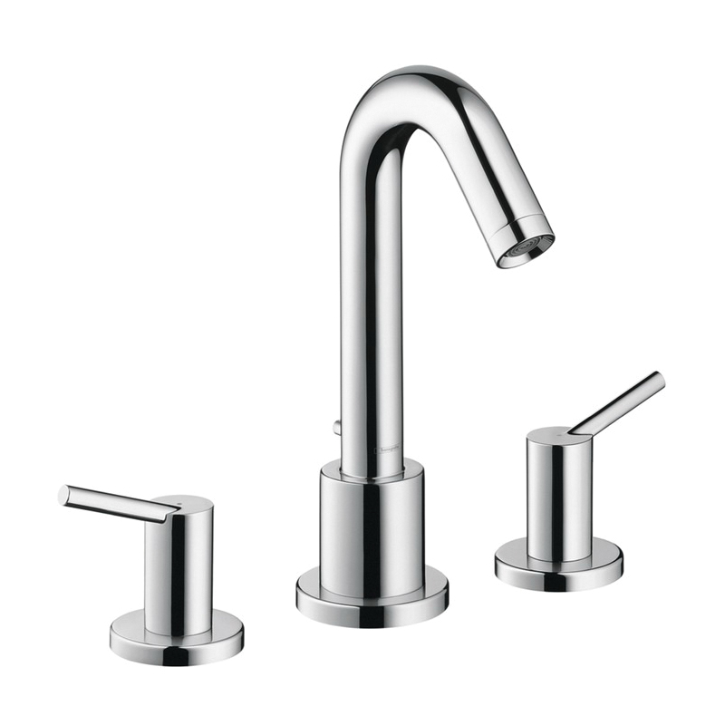 Hansgrohe 32313001 Talis S Roman Tub Set Trim, 5.8 gpm, 8-5/8 in Center, Chrome Plated, 2 Handles, Hand Shower Yes/No: No