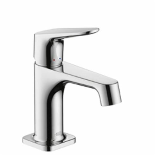 Hansgrohe 34016001 Axor Citterio M Small Bathroom Faucet, 1.2 gpm, 2-3/4 in H Spout, 1 Handle, Pop-Up Drain, 1 Faucet Hole, Chrome Plated, Import, Commercial