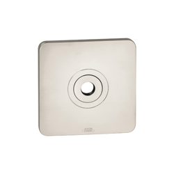 Hansgrohe 34612821 AXOR Citterio M Wall Mount Wall Plate, For Use With 27412001 and 27412821 Model Shower Head/Arm, Metal, Brushed Nickel