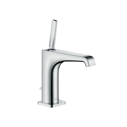 Hansgrohe 36100001 Axor Citterio E 150 Bathroom Faucet, 1.2 gpm, 5 in H Spout, 1 Handle, Pop-Up Drain, 1 Faucet Hole, Chrome Plated, Commercial