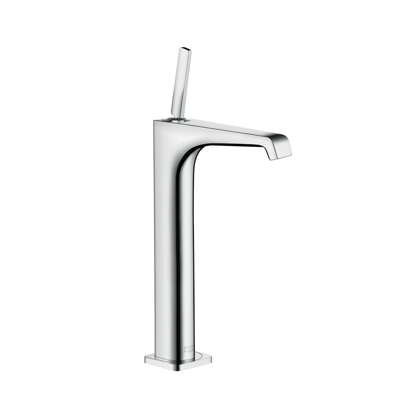 Hansgrohe 36104001 Axor Citterio E 280 Bathroom Faucet, 1.2 gpm, 9-7/8 in H Spout, 1 Handle, 1 Faucet Hole, Chrome Plated, Import