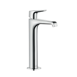 Hansgrohe 36113001 Axor Citterio E 280 Tall Bathroom Faucet, 1.2 gpm, 9-7/8 in H Spout, 1 Handle, 1 Faucet Hole, Chrome Plated, Import
