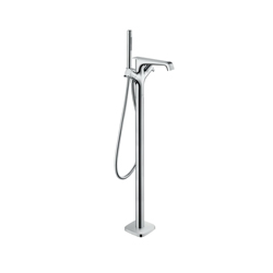 Hansgrohe 36416001 Free Standing Tub Filler Trim, Axor Citterio E, 5.5, Chrome Plated, 2 Handles, Hand Shower Yes/No: Yes, Import