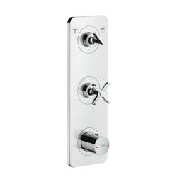 Hansgrohe 36703001 Axor Citterio E Thermostatic Trim, Hand Shower Yes/No: No, Chrome Plated