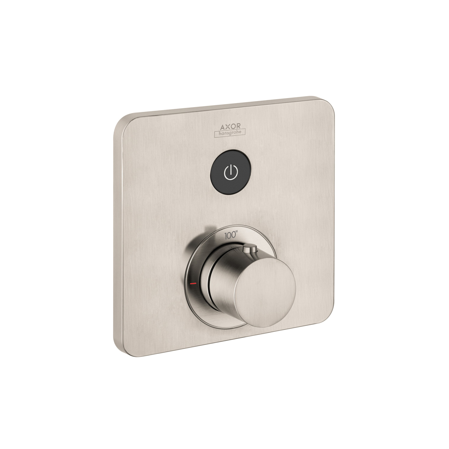 Hansgrohe 36705821 Axor ShowerSelect SoftCube Thermostatic Trim, Hand Shower Yes/No: No, Brushed Nickel