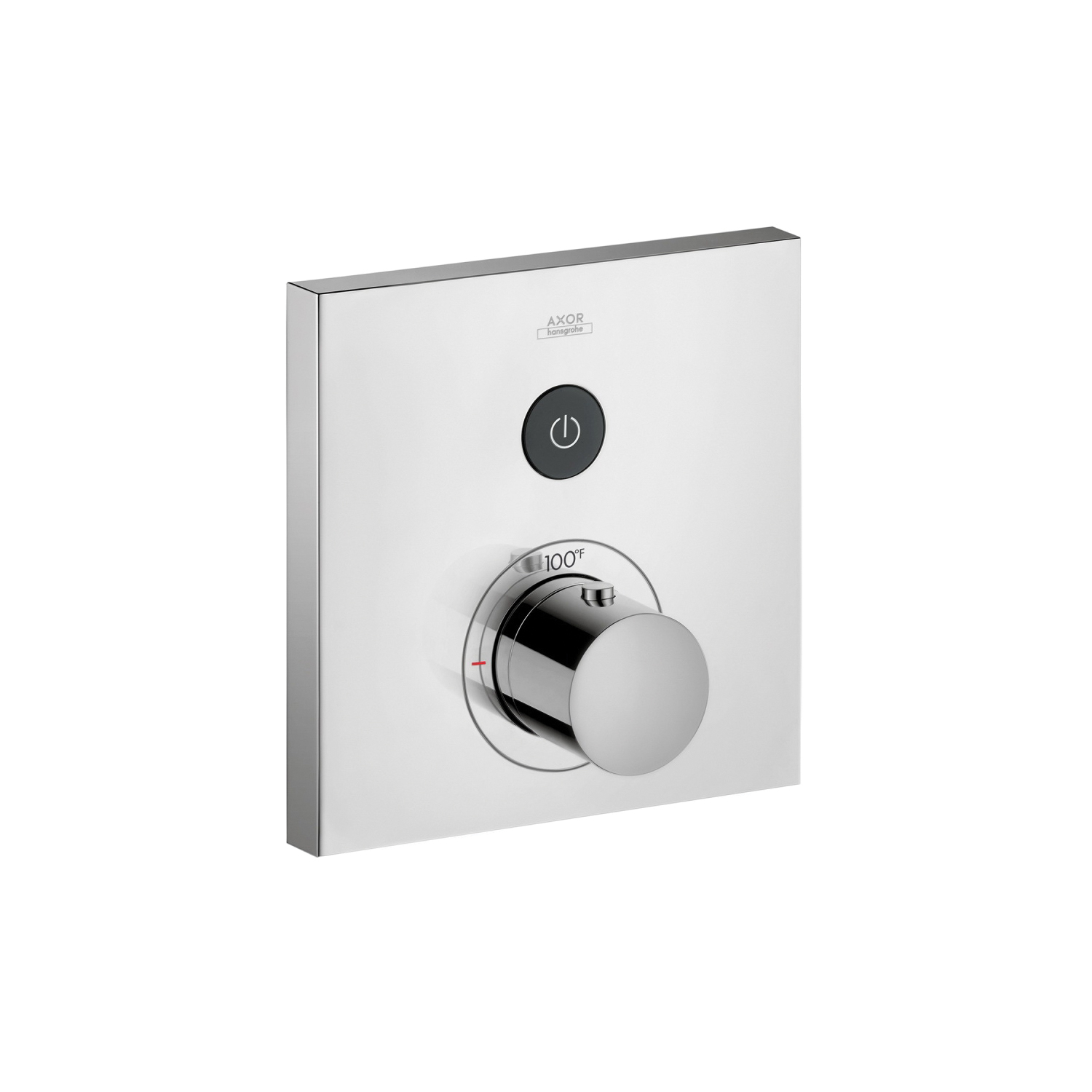 Hansgrohe 36714001 Axor ShowerSelect Square Thermostatic Trim, Hand Shower Yes/No: No, Chrome Plated