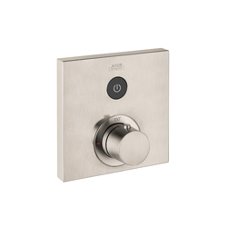 Hansgrohe 36714821 Axor ShowerSelect Square Thermostatic Trim, Hand Shower Yes/No: No, Brushed Nickel