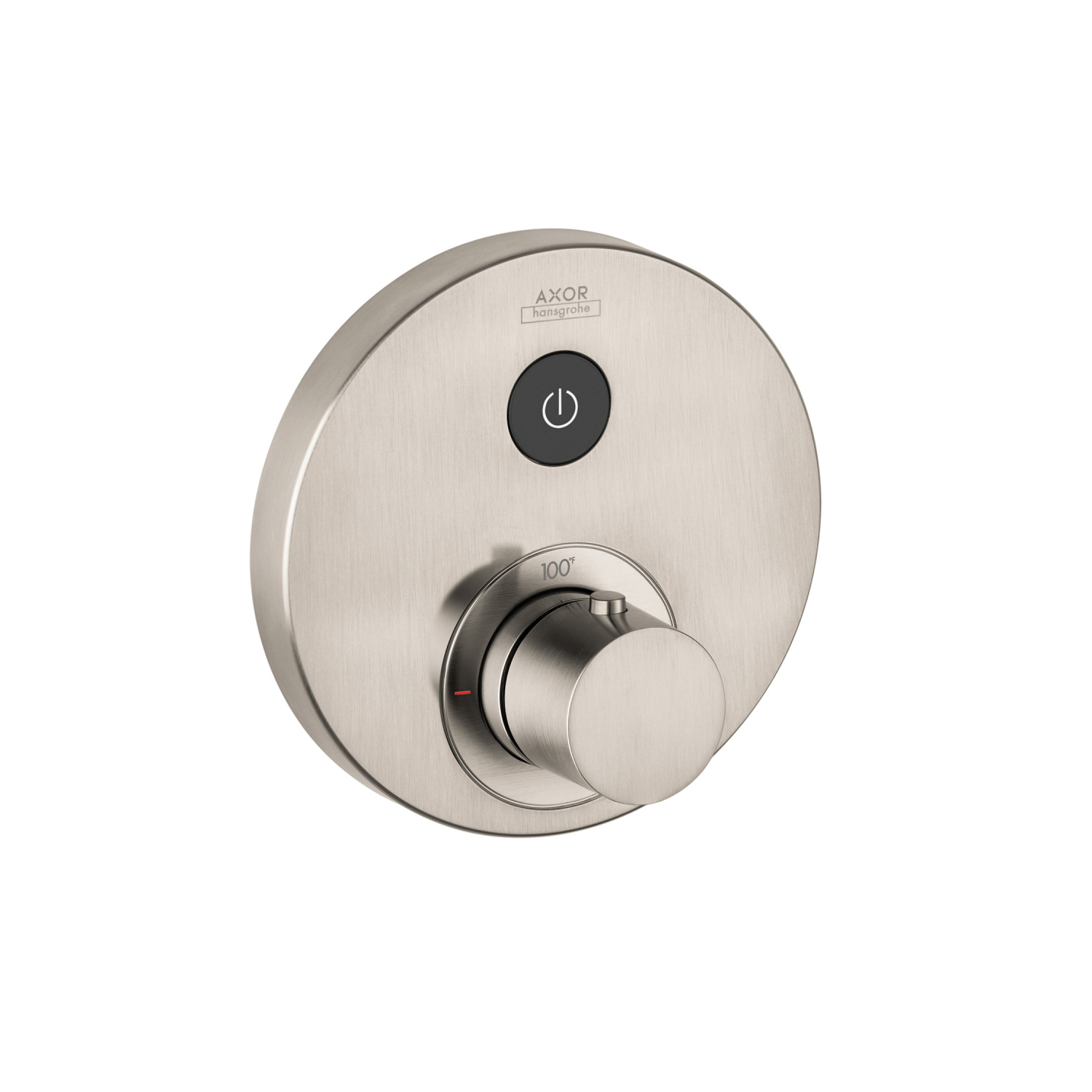 Hansgrohe 36722821 Axor ShowerSelect Round Thermostatic Trim, Hand Shower Yes/No: No, Brushed Nickel