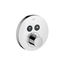 Hansgrohe 36723001 Axor ShowerSelect Round Thermostatic Trim, Hand Shower Yes/No: No, Chrome Plated