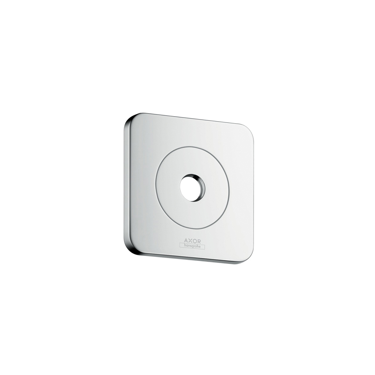 Hansgrohe 36725001 AXOR Citterio E Wall Mount Wall Plate, Metal, Chrome Plated, Import