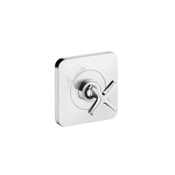 Hansgrohe 36771001 Axor Citterio E Volume Control Trim, Chrome Plated