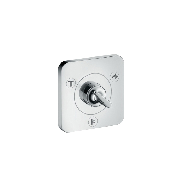 Hansgrohe 36772001 Axor Citterio E Diverter Trim, Chrome Plated