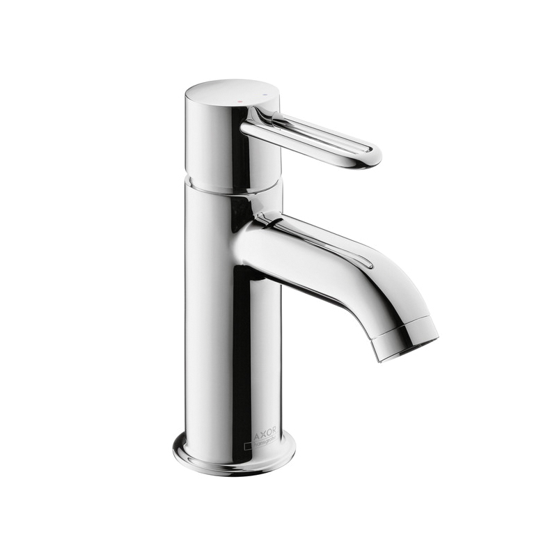 Hansgrohe 38020001 Axor Uno Bathroom Faucet, 1.2 gpm, 3-3/8 in H Spout, 1 Handle, Pop-Up Drain, 1 Faucet Hole, Chrome Plated, Commercial