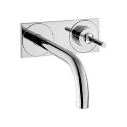 Hansgrohe 38117001 Axor Uno Bathroom Faucet Trim, 1.2 gpm, 1 Handle, Chrome Plated, Commercial