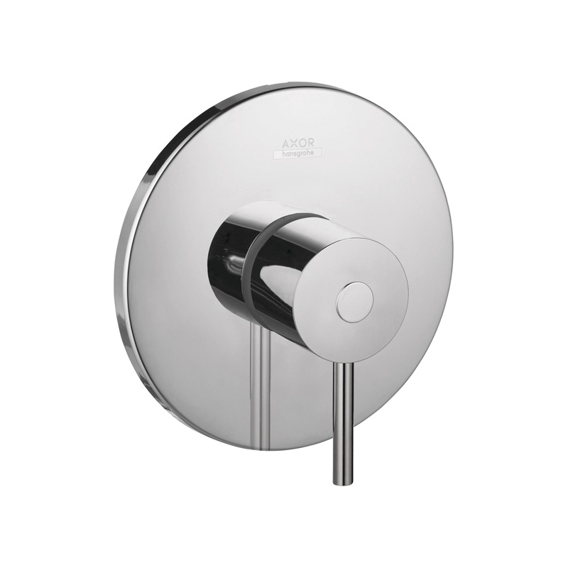 Hansgrohe 38418001 Axor Uno Pressure Balance Trim, 6.5 gpm Shower, Chrome Plated