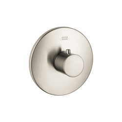 Hansgrohe 38715821 Axor Uno High Flow Thermostatic Trim, Hand Shower Yes/No: No, Brushed Nickel