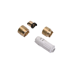Hansgrohe 38982000 Axor Wall Mount Extension Set, 1 in, For Use With 38111181 Model Wall Mount Single Lever Basin Faucet Rough-In, Chrome Plated, Import