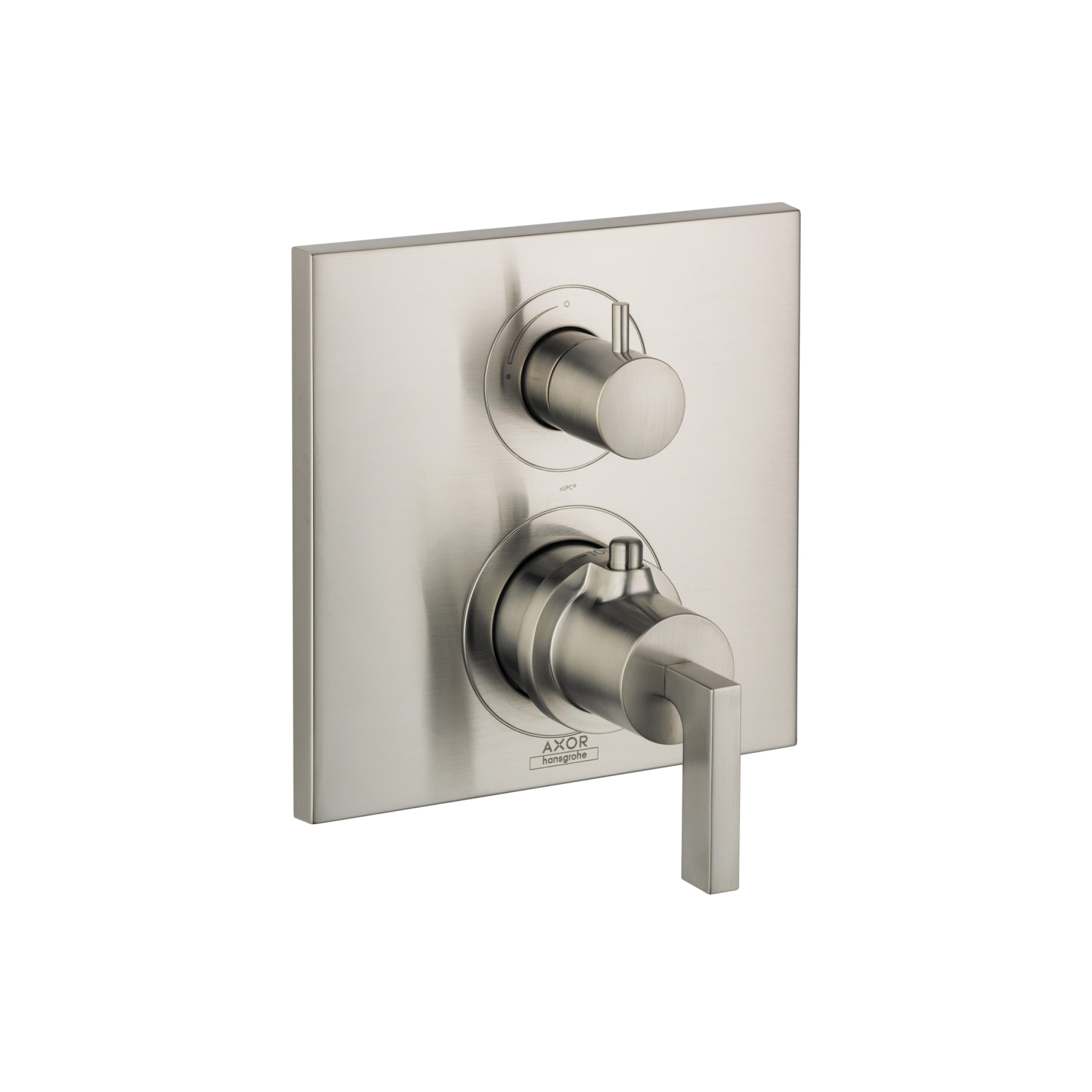 Hansgrohe 39700821 Axor Citterio Thermostatic Trim, Hand Shower Yes/No: No, Brushed Nickel