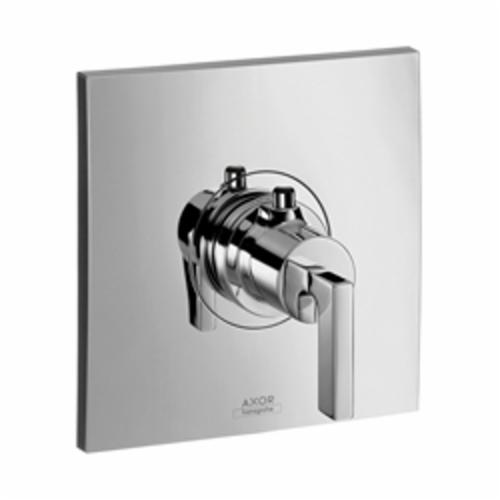 Hansgrohe 39711001 Axor Citterio High Flow Thermostatic Trim, Hand Shower Yes/No: No, Chrome Plated