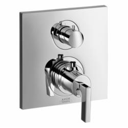 Hansgrohe 39720001 Axor Citterio Thermostatic Trim, Hand Shower Yes/No: No, Chrome Plated